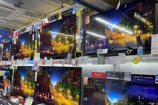 历史上第一次,京东方大型液晶面板出货金额超LG显示