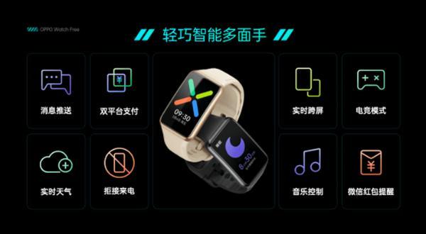 OPPO Watch Free正式发布,首发价549元