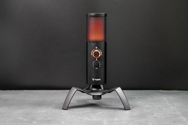 声色俱佳的新选择,雷柏VS500 RGB背光游戏麦克风评测