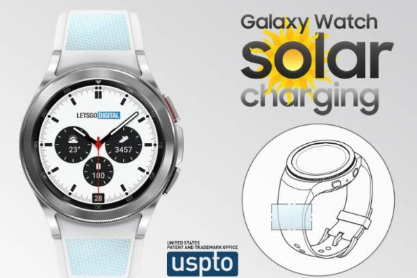 三星新专利显示,未来Galaxy Watch有望配备太阳能表带