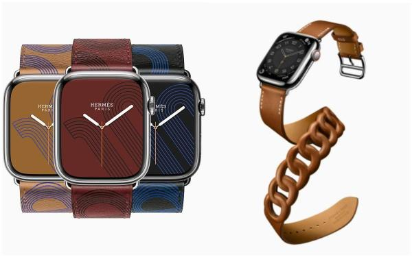 2021 APPLE秋季发表:Apple Watch S7荧幕大20%、超耐用的Hermès也有新款