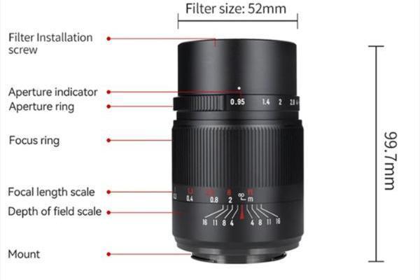 超大光圈很诱人 七工匠25mm F0.95预计月底上市