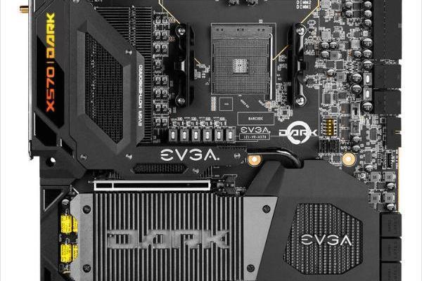 17相CPU供电 EVGA X570 DARK主板发布