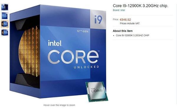 英特尔12代处理器即将登场 12900K消息汇总